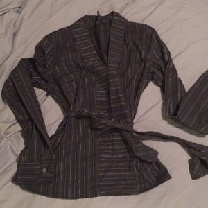 Benetton striped dress shirt